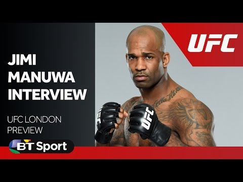 UFC London: Jimi Manuwa exclusive interview