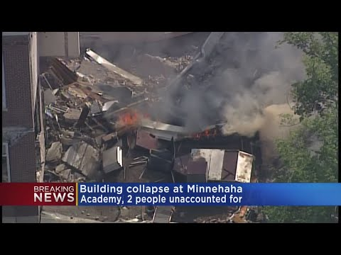 Gas Line Work Prior To Explosion At Minnehaha Academy
