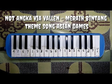 Not Pianika Meraih Bintang - Via Vallen - Official Theme Song Asian Games 2018