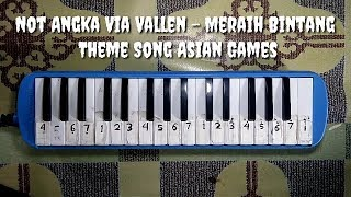 Not Pianika Meraih Bintang - Via Vallen -  Theme Song Asian Games 2018