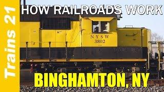 HOW RAILROADS WORK Ep. 7: Binghamton, NY
