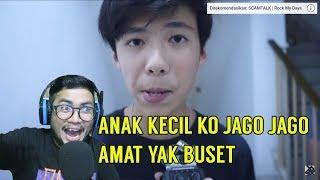 PARAH DAH ! ANAK KECIL KO JAGO JAGO AMAT SI !! | SansReaction