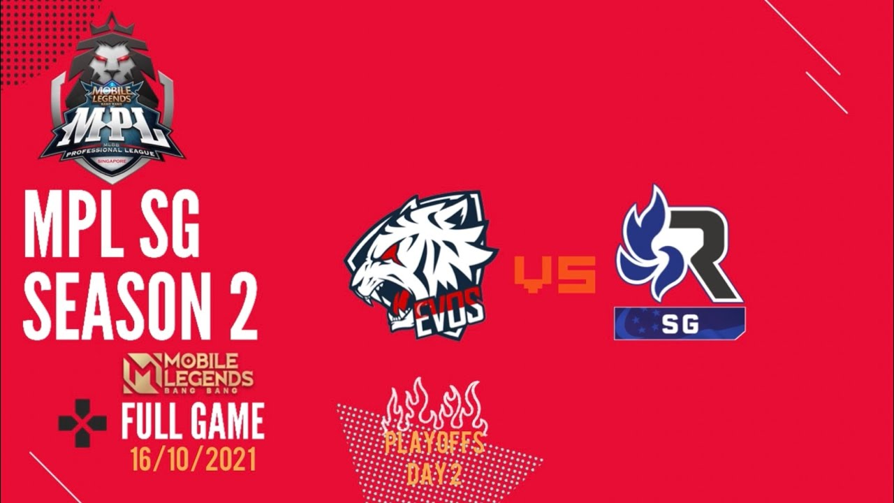 Download Mobile Legends MPL SG Season 2   EVOS SG Vs RSG SG   Playoffs #mobilelegends #evos #rsg