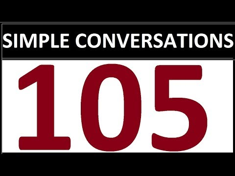 105 VERY SIMPLE ENGLISH CONVERSATIONS for beginners. English Speaking Practice Questions and Answers