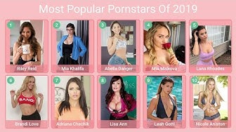 All The Time Everybody's Dream Girls |The Most Popular PornStars Of Every Year