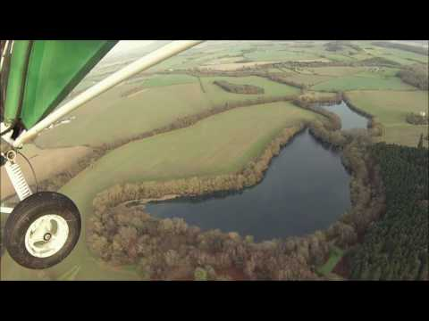 Flight to Acton Burnell Castle Shropshire