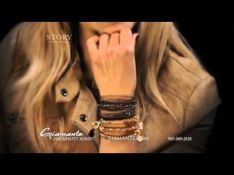 STORY Bracelet collection available at Giamante in Anchorage, Alaska