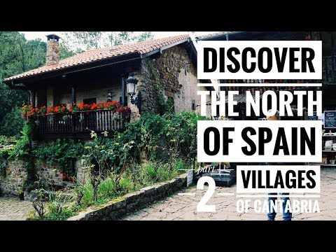 Spain Travel Vlog - CANTABRIA, beatiful villages and gastronomy // 2017 HD