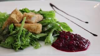 Вкусные Корки: Зеленый салат с сыром Бри