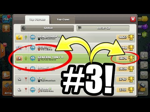 OMG WE MADE IT TO TOP 10 UK!!! - Clash Of Clans BUILDERS VILLAGE TROPHY PUSH!
