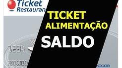 TICKET ALIMENTAÇÃO SALDO E EXTRATO | CONSULTE AGORA SEU SALDO (ATUALIZADO)