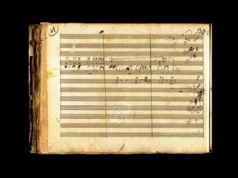 Beethoven - Symphony No. 6 in F Major, Op. 68 {manuscript score}