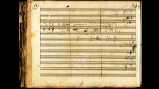 Beethoven - Symphony No. 6 in F Major, Op. 68 {manuscript score}