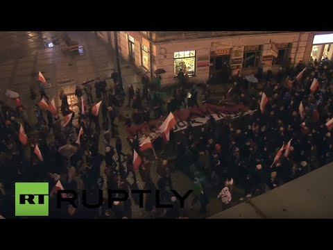 Poland: Thousands march in memory of anti-communist 'Cursed Soldiers'