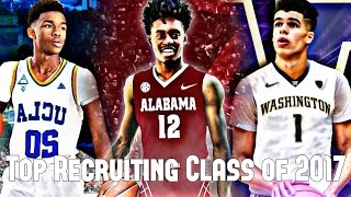 The Best Recruiting Class of 2017 - UCLA IS GOING TO BE STACKED