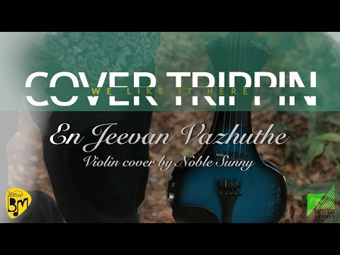 En Jeevan Vazhuthe violin cover - COVER TRIPPIN