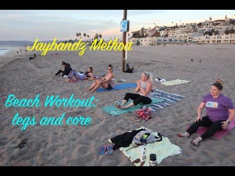 Download Jaybandz Method Beach Workout: Legs and Core routine