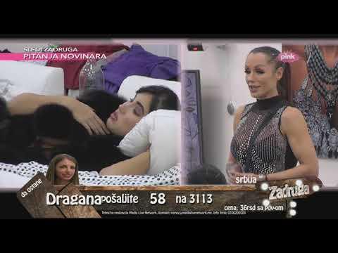 Zadruga 2 - Ljuba ušla u Zadrugu, Aleksandra ne želi da se pozdravi sa njom - 25.11.2018.