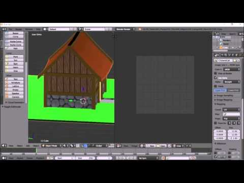 Blender Tutorial: Detailed version of UV baking