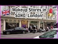 Makeup Stores in SOHO London! (Benefit boutique, Pixi Beauty, MAC)