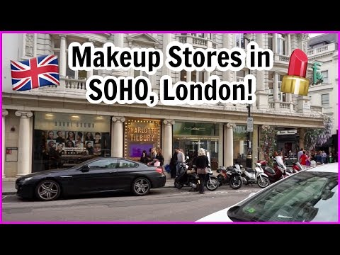 Makeup Stores In SOHO London! (Benefit Boutique, Pixi Beauty, MAC)