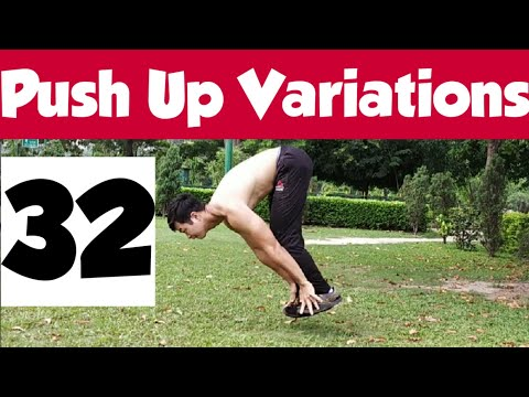 32 Push Up Variations ALL LEVELS( Beginner to Advanced) | Brandon Lee