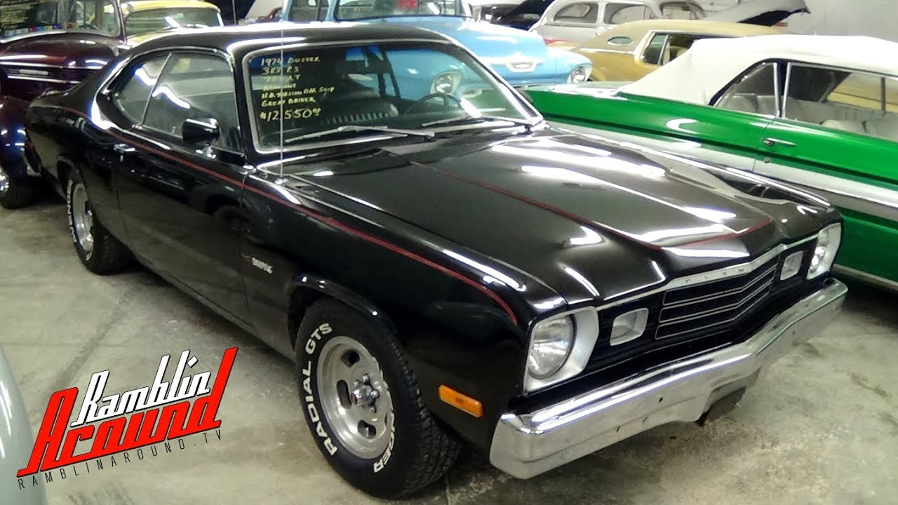 1974 Plymouth Duster 383 V8 - YouTube