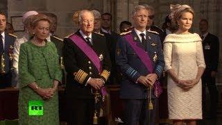 видео Новый король Бельгии Филипп вступил на престол