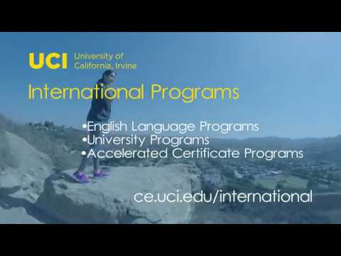 Why Choose UCI DCE International Programs?