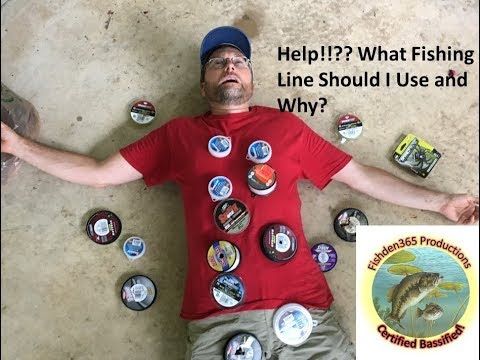 Fishing Line Selection And Application