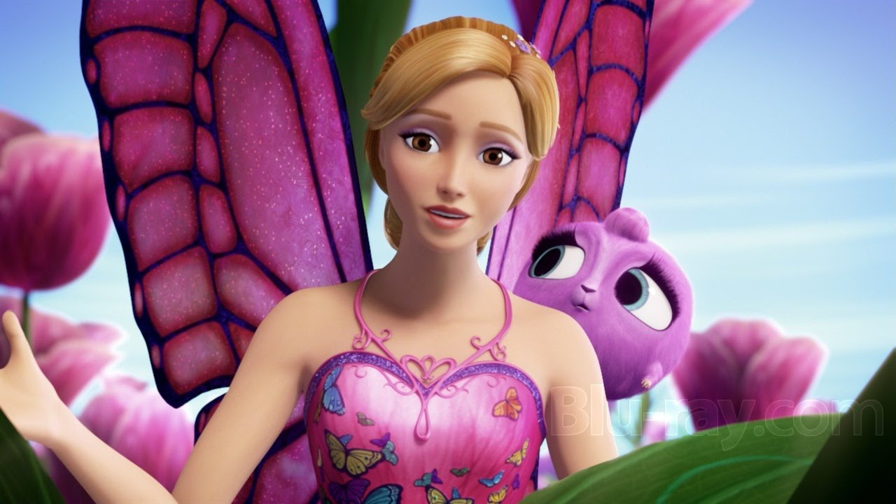 Barbie mariposa et le royaume des f es barbie en - Le chat de barbie ...