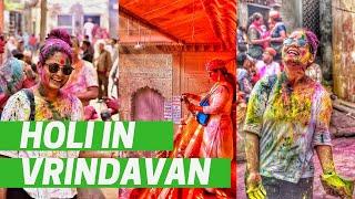 Holi in Vrindavan Safe For Girls? | Nandgaon & Barsana Lathmaar Holi 2019 | DesiGirl Traveller