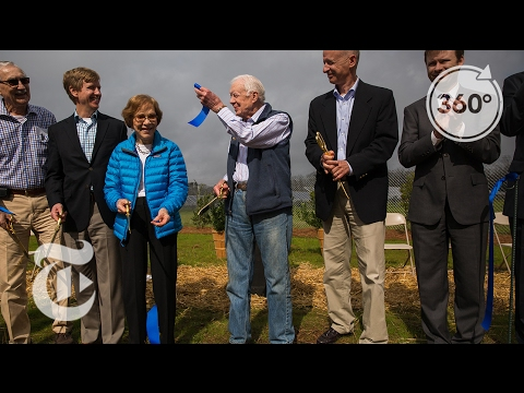 Jimmy Carter: From Peanuts to Solar Panels | The Daily 360 | The New York Times