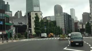 大型トラック 車載  品川 → 芝公園(東京タワー) →霞ヶ関 → 国会議事堂前 thumbnail