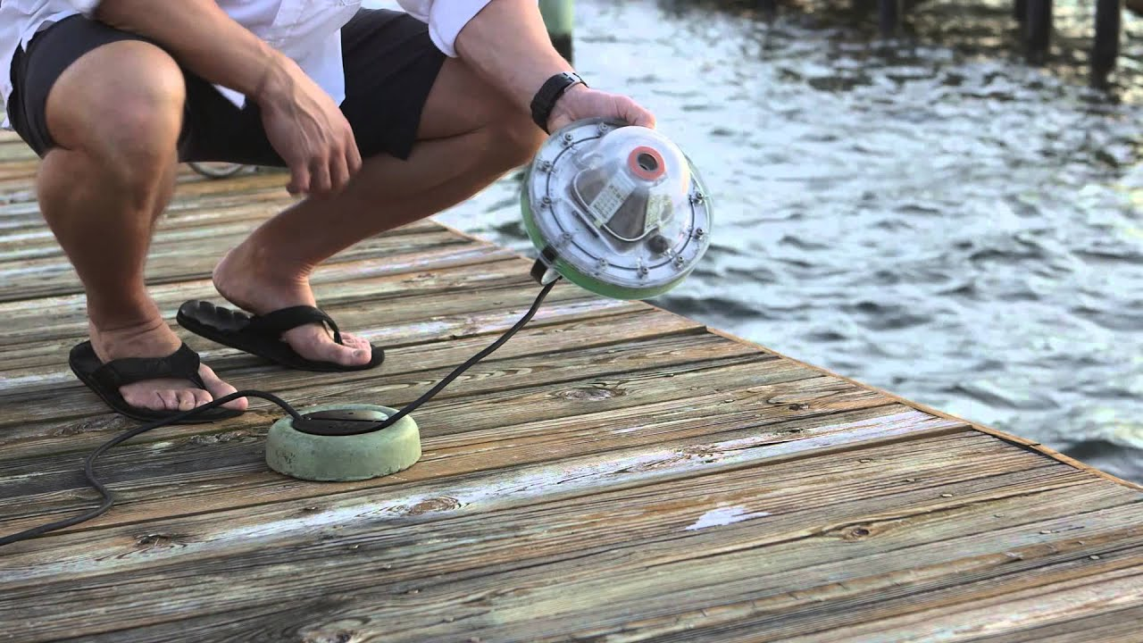 aqua dock lights - ultimate underwater led dock light - youtube, Reel Combo