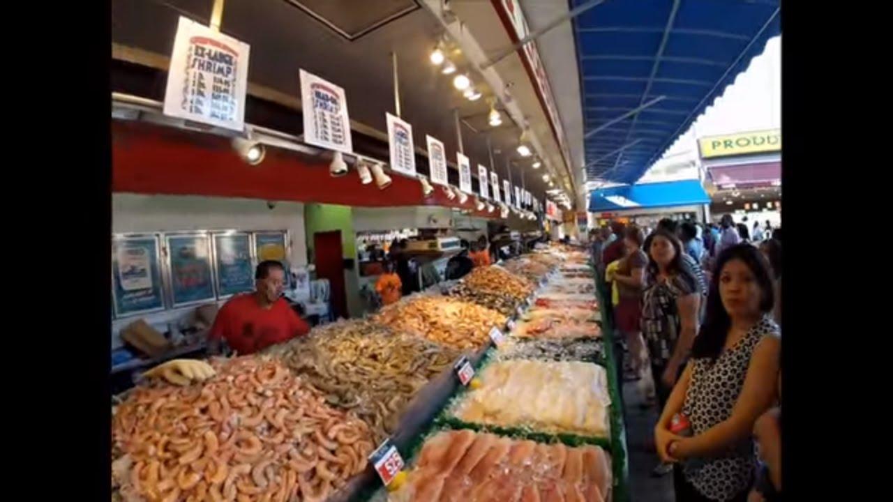 A walk through Maine Avenue Fish Market, Washington, D.C.