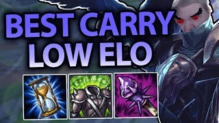 THIS IS THE BEST CHAMPION TO CARRY LOW ELO WITH! NO SKILL REQUIRED! SWAIN TOP S7 - League of Legends