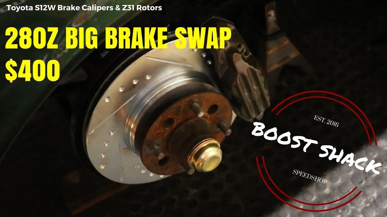 HOW TO: Datsun 280z Big Brake Conversion : S12W SWAP