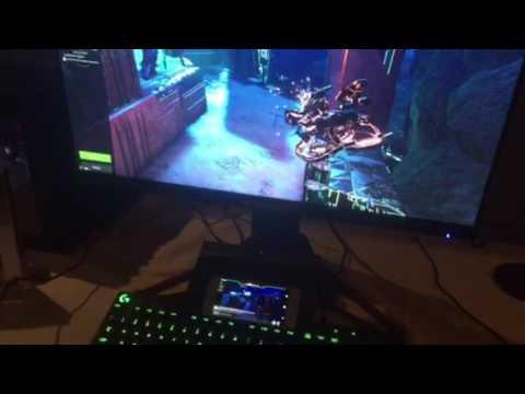 Nvidia demo