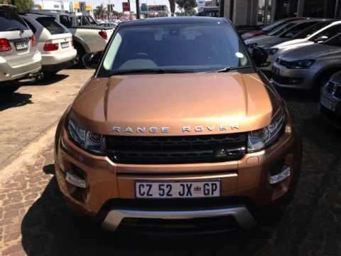 2014 Range Rover >> 2014 LAND ROVER RANGE ROVER EVOQUE 2.0 Si4 Dynamic Zanzibar Edition Auto Auto For Sale On Auto ...
