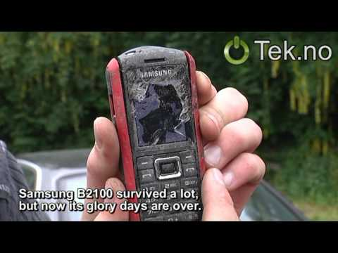 Samsung B2100 crash test