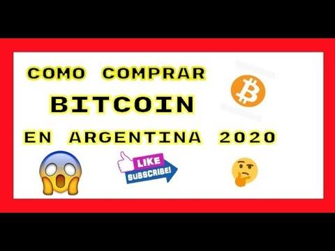 🔴 COMO COMPRAR✔️ BITCOINS💰💰 EN ARGENTINA [[2020]]