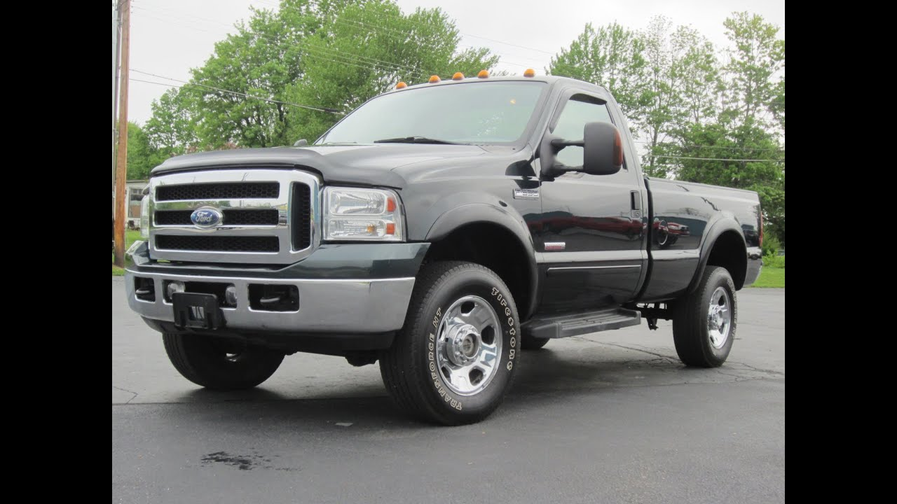 2006 ford f350 xlt 4x4 6 0l powerstroke regular cab sold