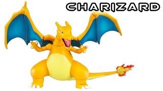 S.H. Figuarts CHARIZARD LIZARDON Pokemon Action Figure Toy Review