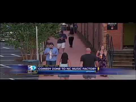 WBTV 3 charlotte news of comedy zone coming to the nc music factory