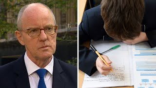 video: Politics latestnews: Schools minister defends 11th hour change to A-level grading insisting there is 'no confusion'