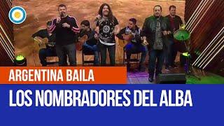 Los Nombradores del Alba en el primer programa de Argentina Baila