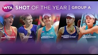 2015 WTA Shot of the Year | Group A