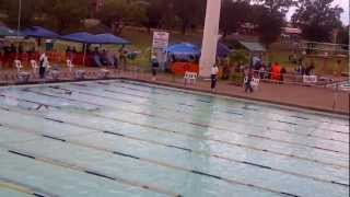 "Zoe"" Frank - 100m Freestyle @ S.A. National Championships in Newcastle, South Africa"