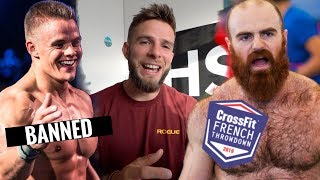 French Throwdown Day 1 - Another Athlete Banned (News)